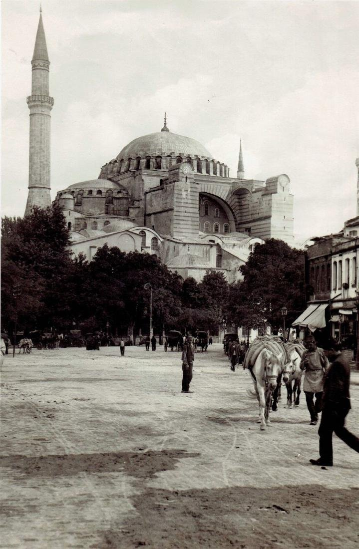 1928 Ottoman Mosque Istanbul Turkey Constantinople Phot