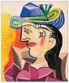 Pablo Picasso 1938 Lithograph Print