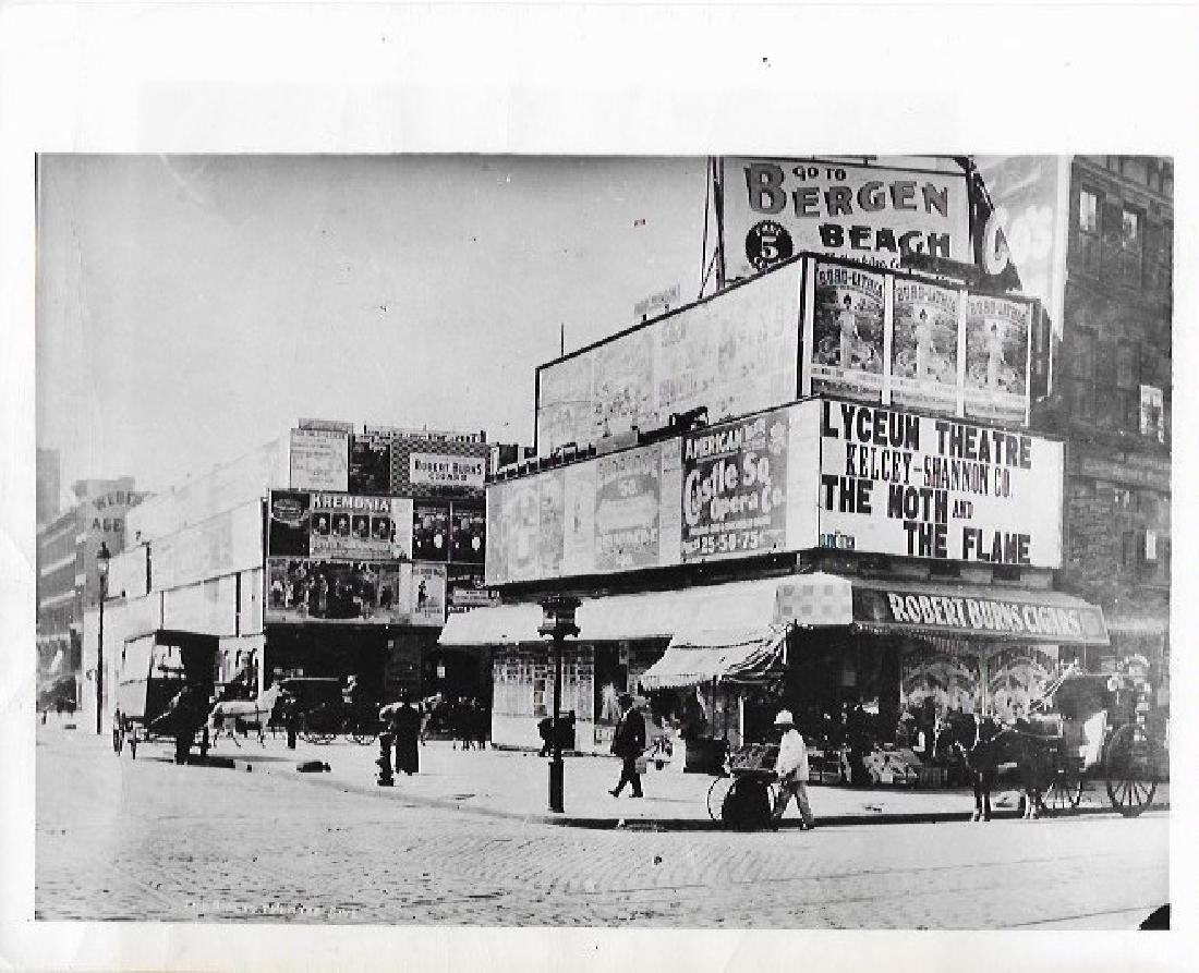 1948 Photo New York city Manhattan broadway