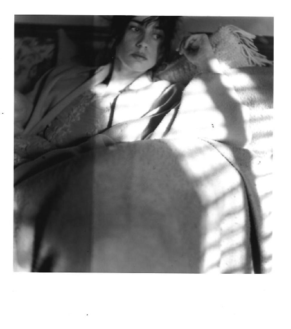 Rare Black & White Lady Photo