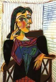 Portrait Dora Marr Lithograph Print