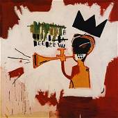 Jean-Michel Basquiat Trumpet 1984 Giglee Print