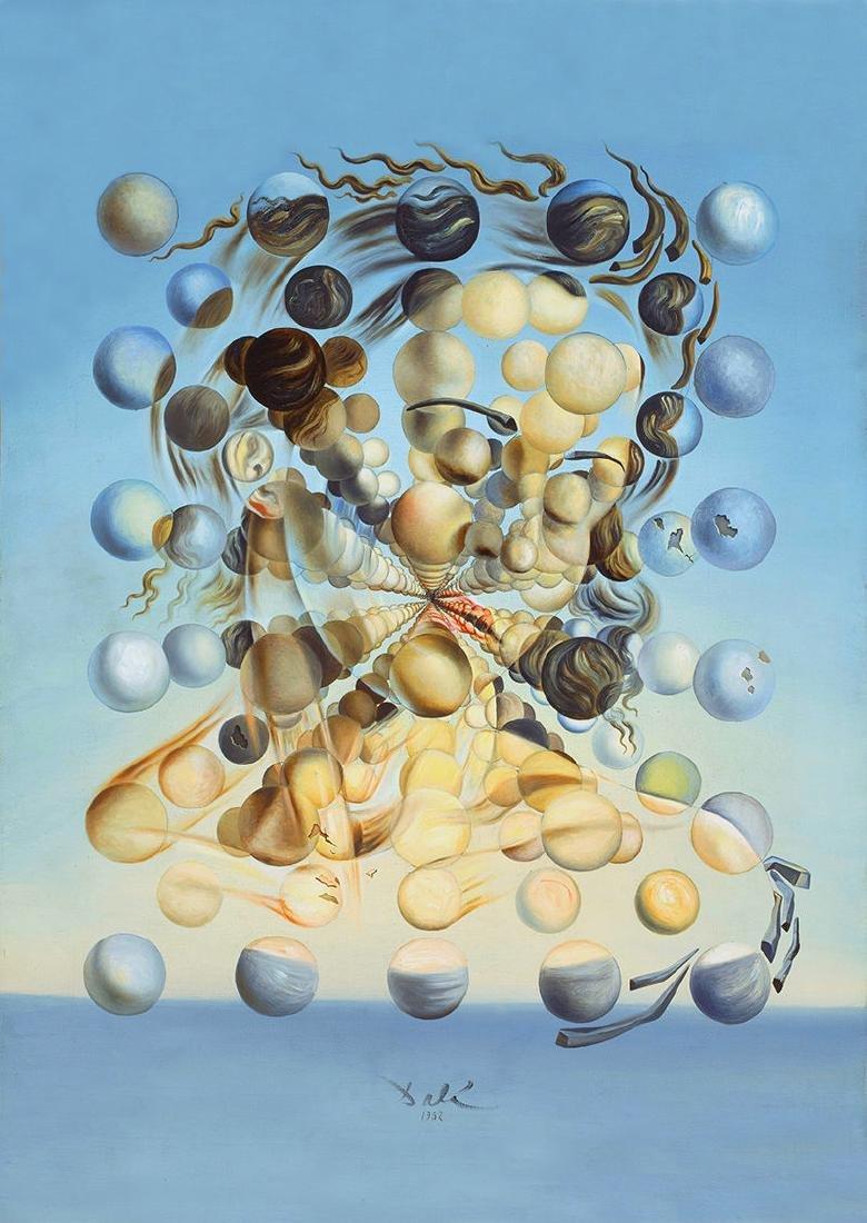 Salvador Dali Art Silk Poster