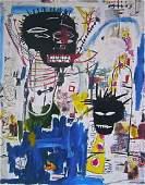 Jean -Micheal Basquiat Art Print