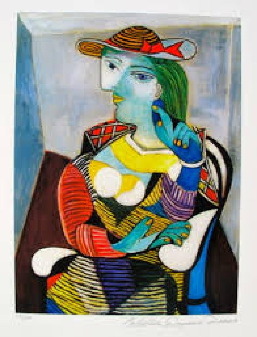 Pablo Picasso Portrait Marie- Therese-1937