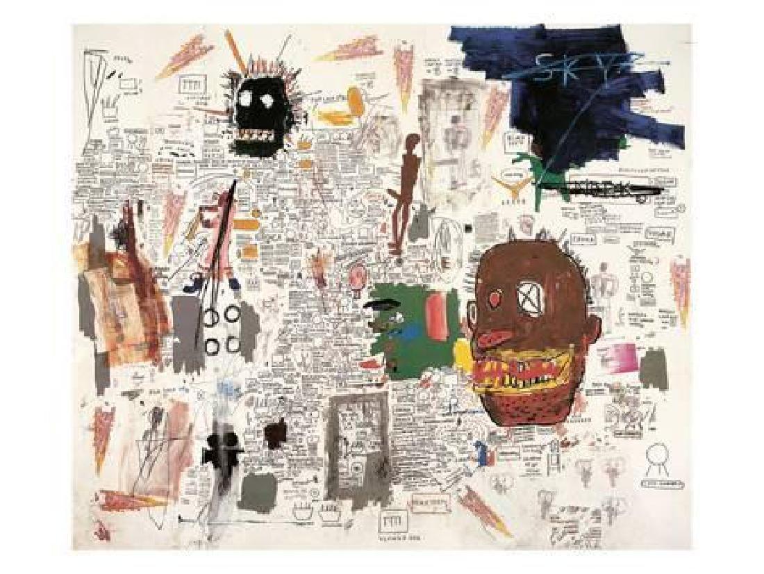 Jean Basquiat untitled 1987 Art