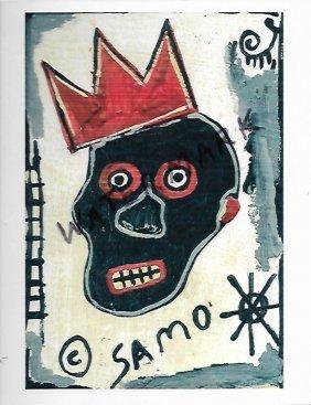 Jean Basquiat Art Print