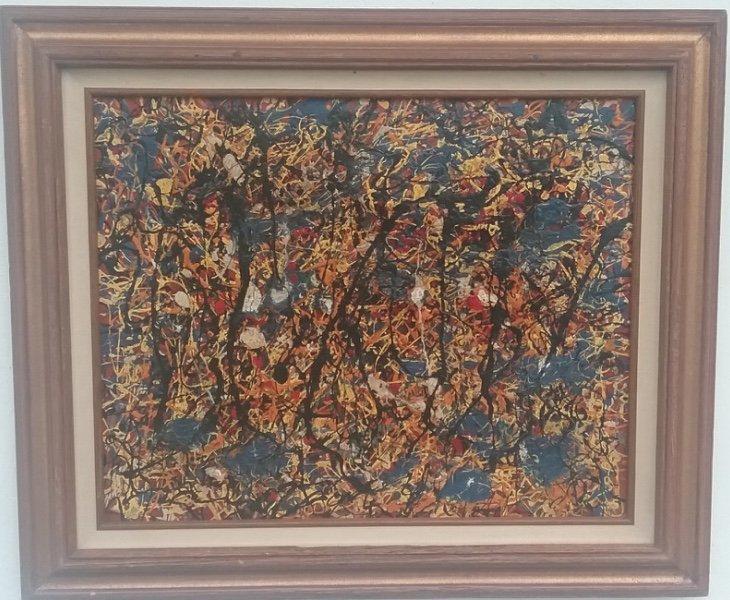 1951 Jackson Pollock Abstract Painting