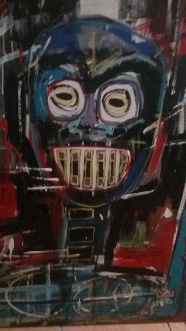 Jean-Michel Basquiat New York Street Art Painting - 2