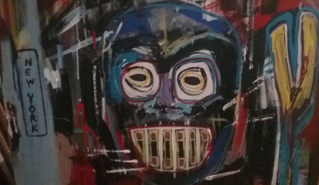 Jean-Michel Basquiat New York Street Art Painting - 4
