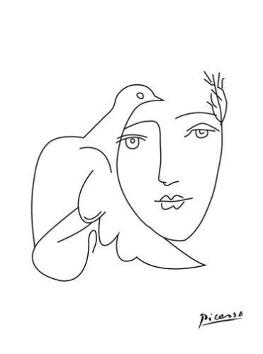 PABLO PICASSO - CANVAS ART PRINT