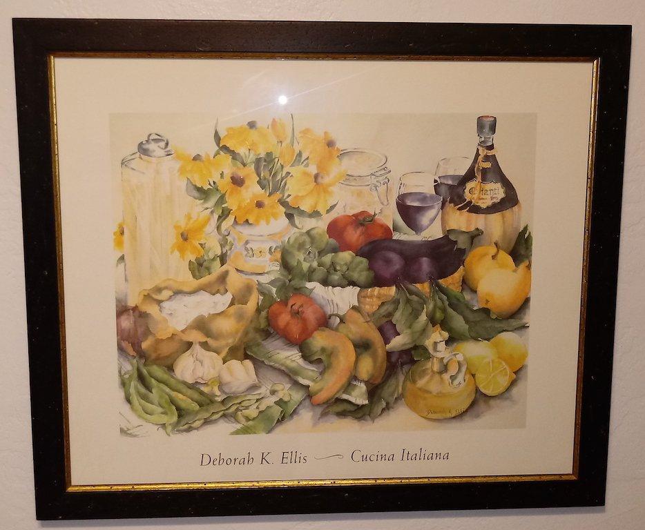 Litho Print sign Deborah K Ellis