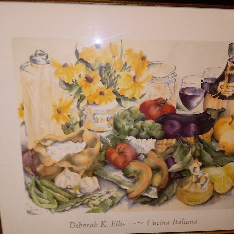 Litho Print sign Deborah K Ellis - 2
