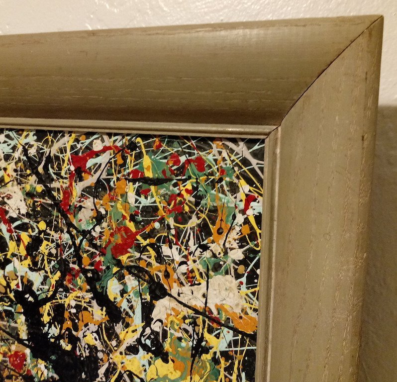 Jackson Pollock American Abstract Expressionist Canvas - 3