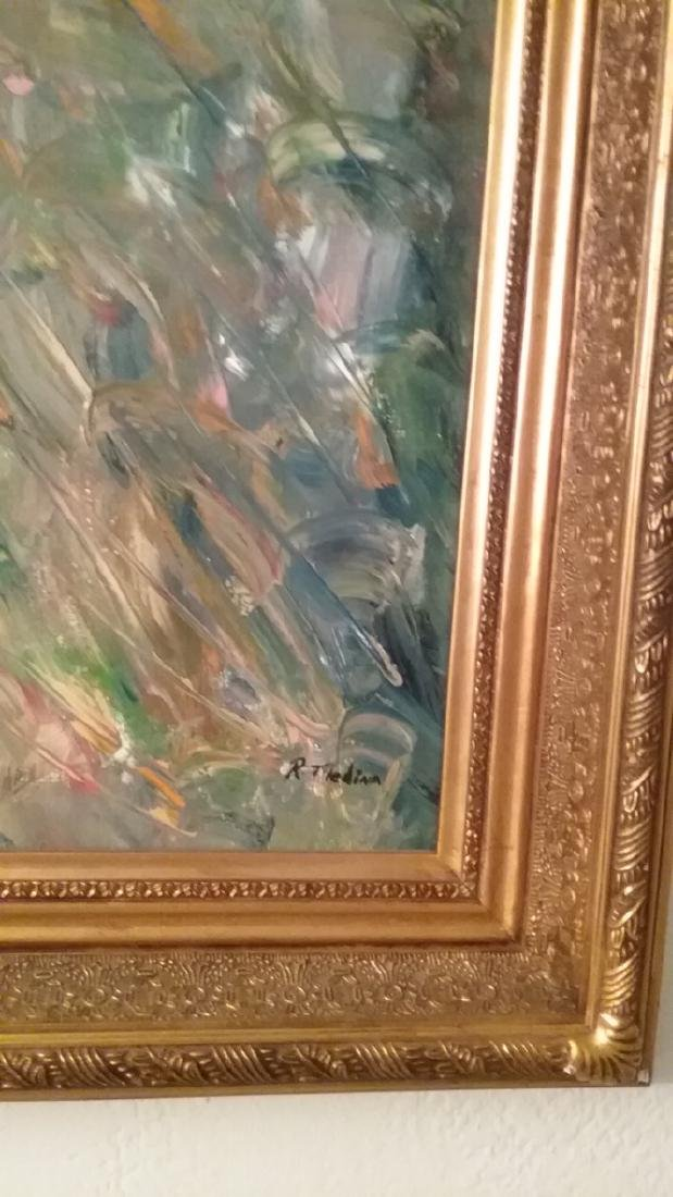 Original Abstract Painting Signed - 2