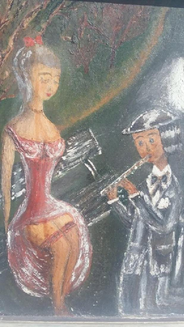 Original Art on Canvas Board