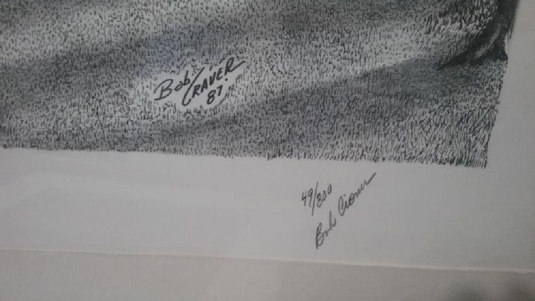 Engraving signed/numbered Bob Cioma - 2