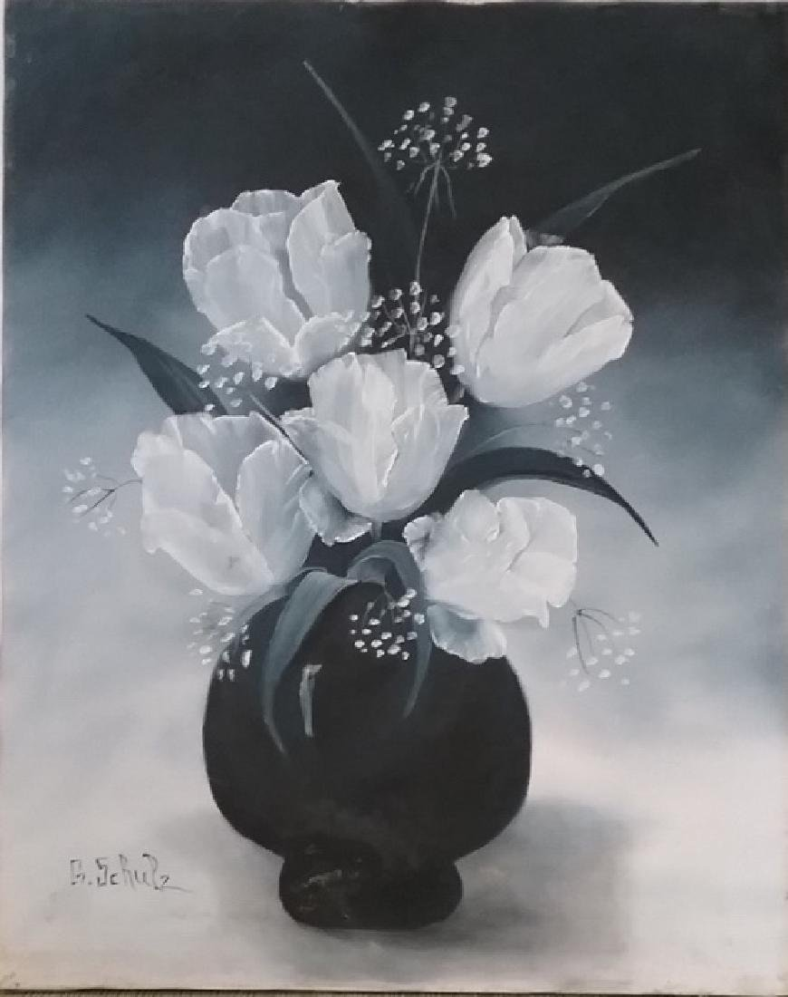 Original signed G. Shultz Acrylic on Canvas Painting