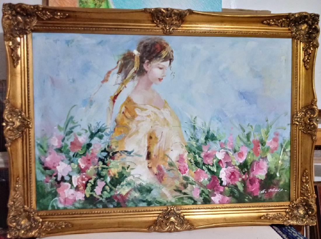 Original Painting signed on Canvas