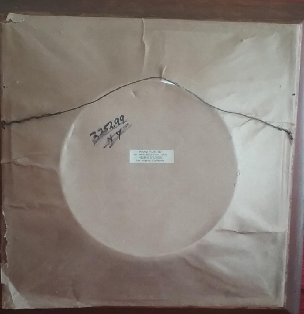 Antique Hand Painting on Plate - 3