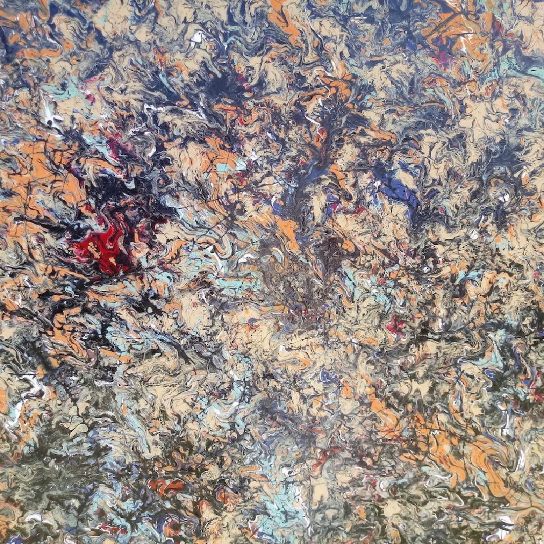 Original Abstract Modern Painting New York. - 2
