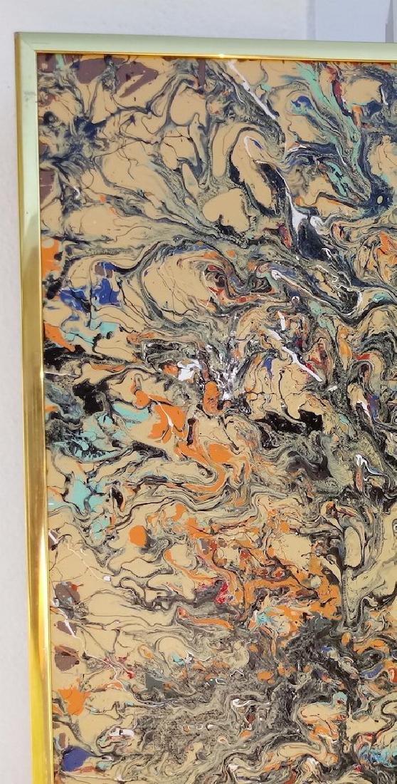 Original Abstract Modern Painting New York. - 3