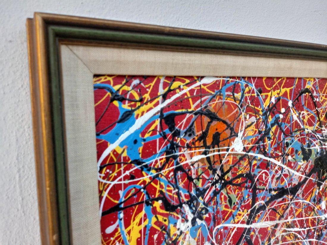 Jackson Pollock Style of Abstract Expressionist - 2