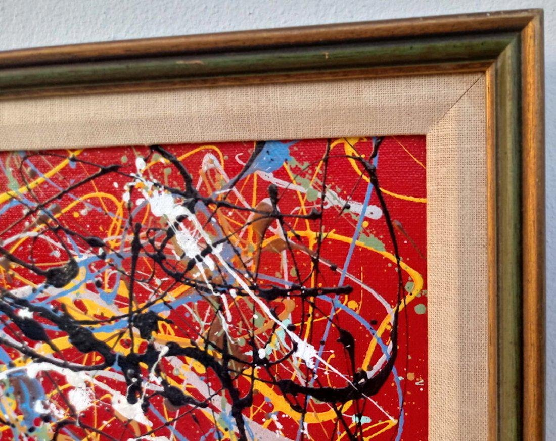 Jackson Pollock Style of Abstract Expressionist - 3