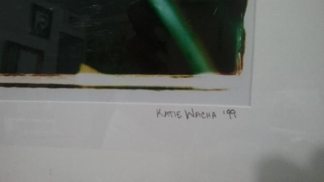 Photograph signed- Katie Wacha 99'. - 2