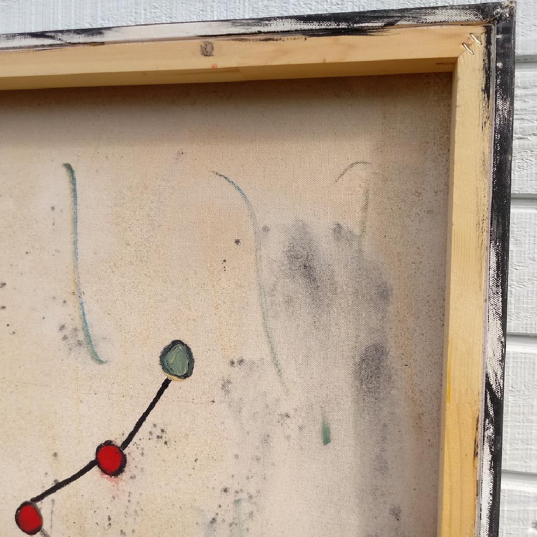 Jean-Michel Basquiat (Style of) N.Y Street Art Painting - 3
