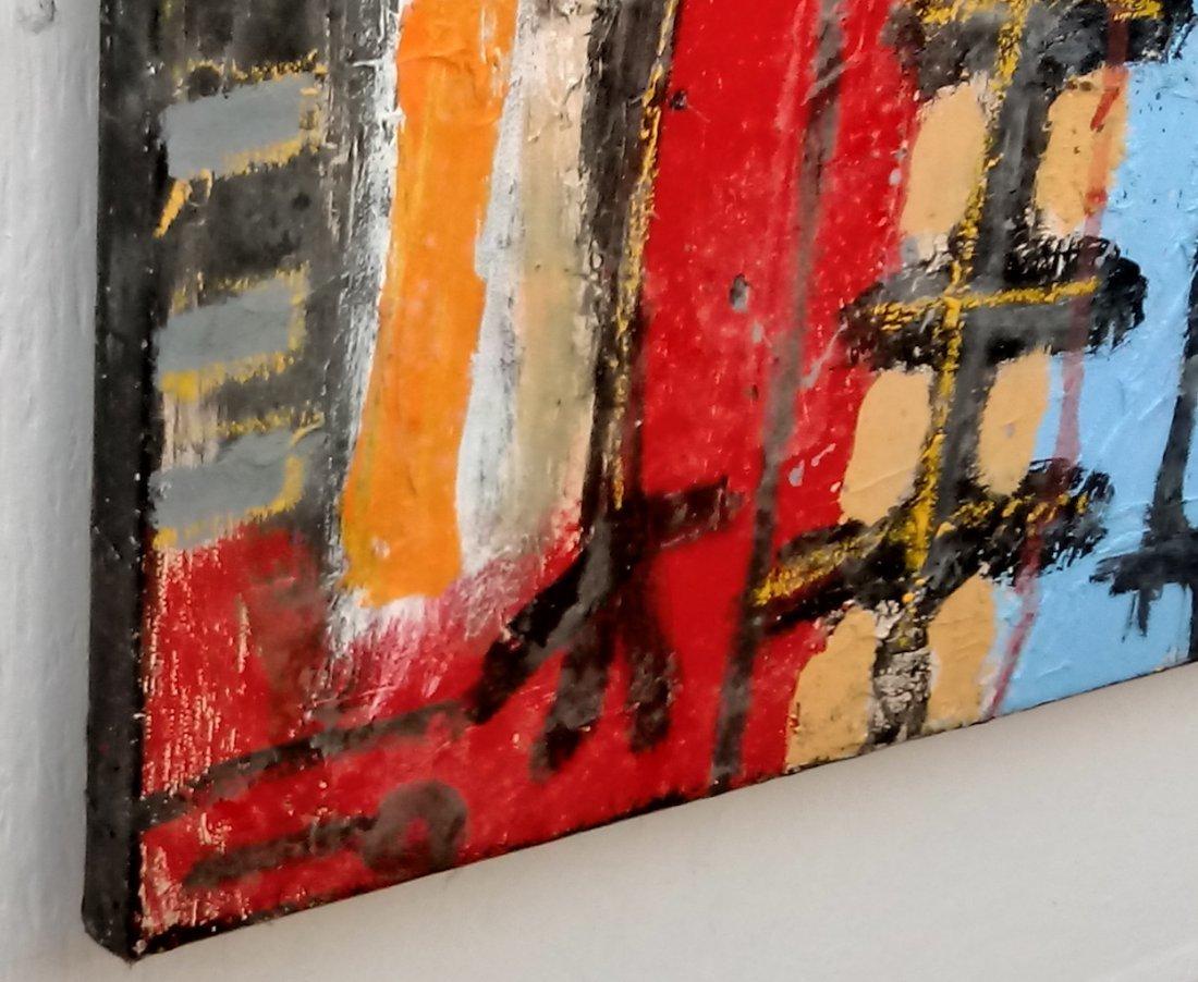 Jean-Michel Basquiat Style Street Art Painting - 2