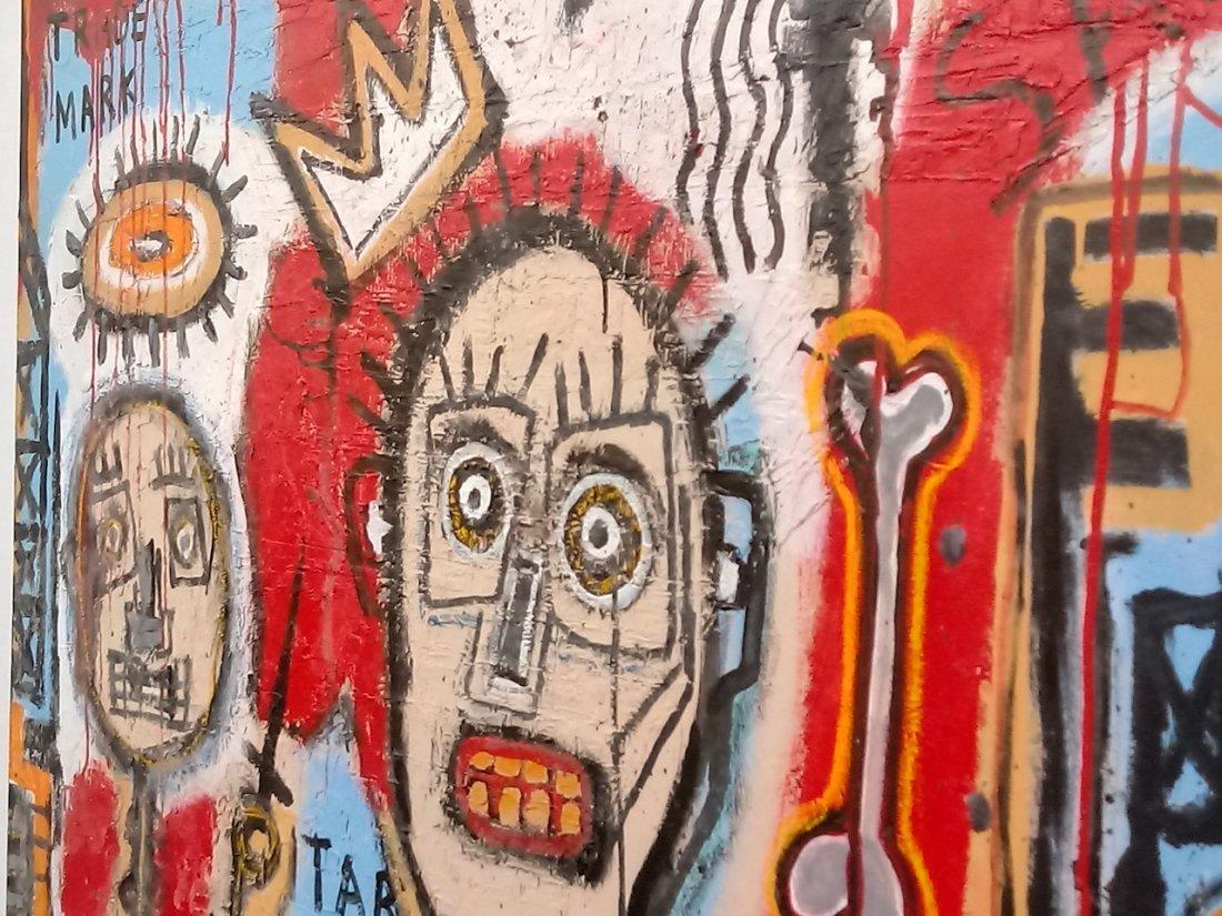 Jean-Michel Basquiat Style Street Art Painting - 3