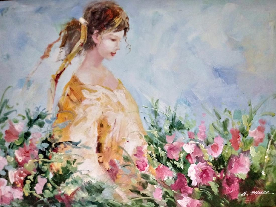 Original Painting signed on Canvas - 2