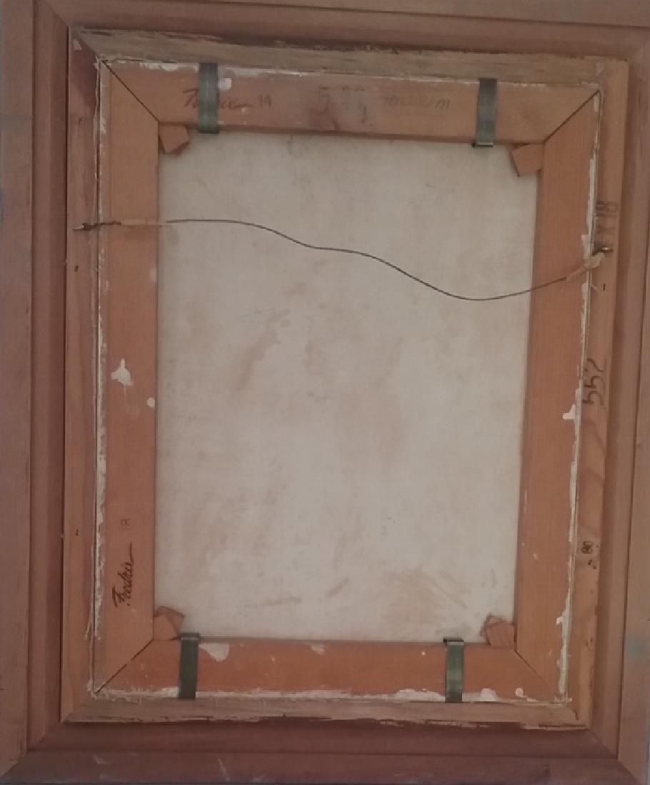 Origina Signed Acrylic Painting w/Wood Frame - 3