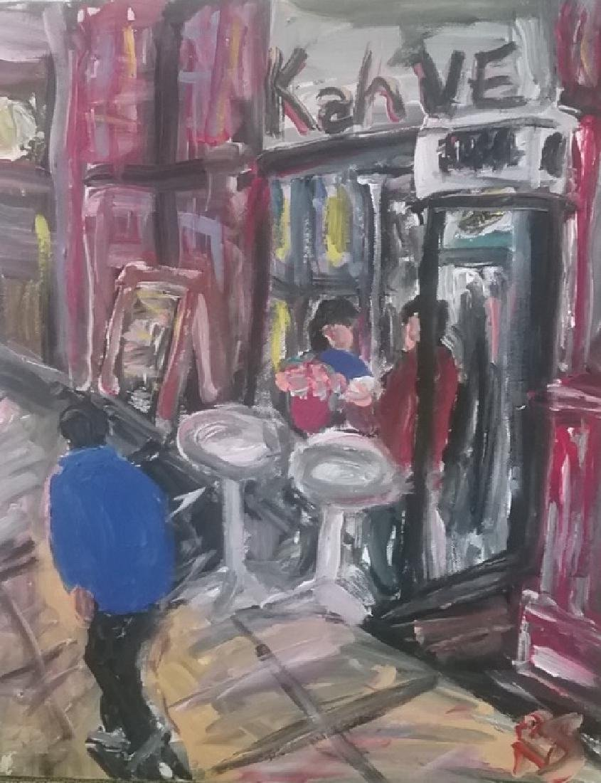 Original Street N York Impressionism Plain Air Painting - 2