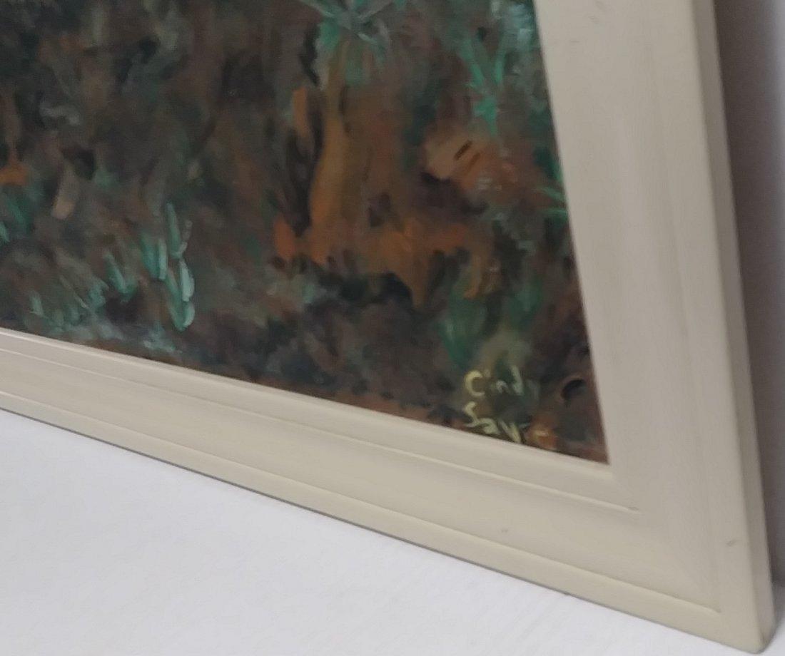 Original Landscape Oil Painting on Canvas Signed - 2