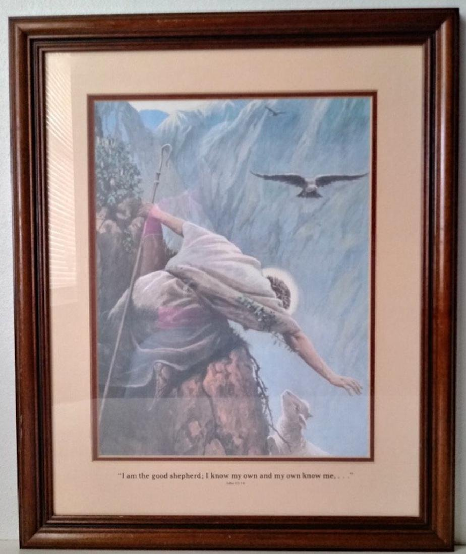 Antique Wood Frame  (Lost Sheep