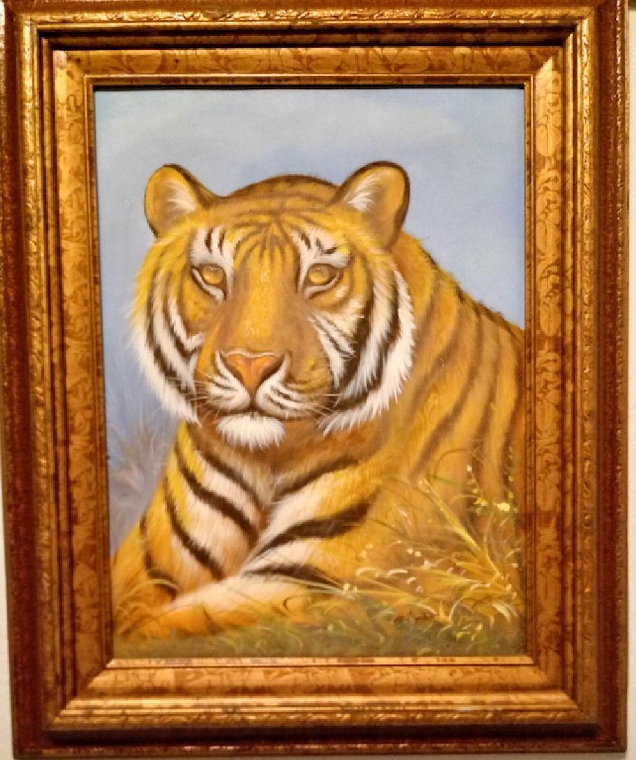 Original  Hand Painting on Canvas Wood Framed