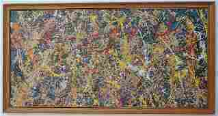 Jackson Pollock (After) Abstract Expressionist America