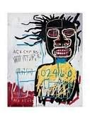 Jean Basquiat Self Portrait Lithograph Print
