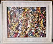 Jackson Pollock Abstract Contemporary Expressionism