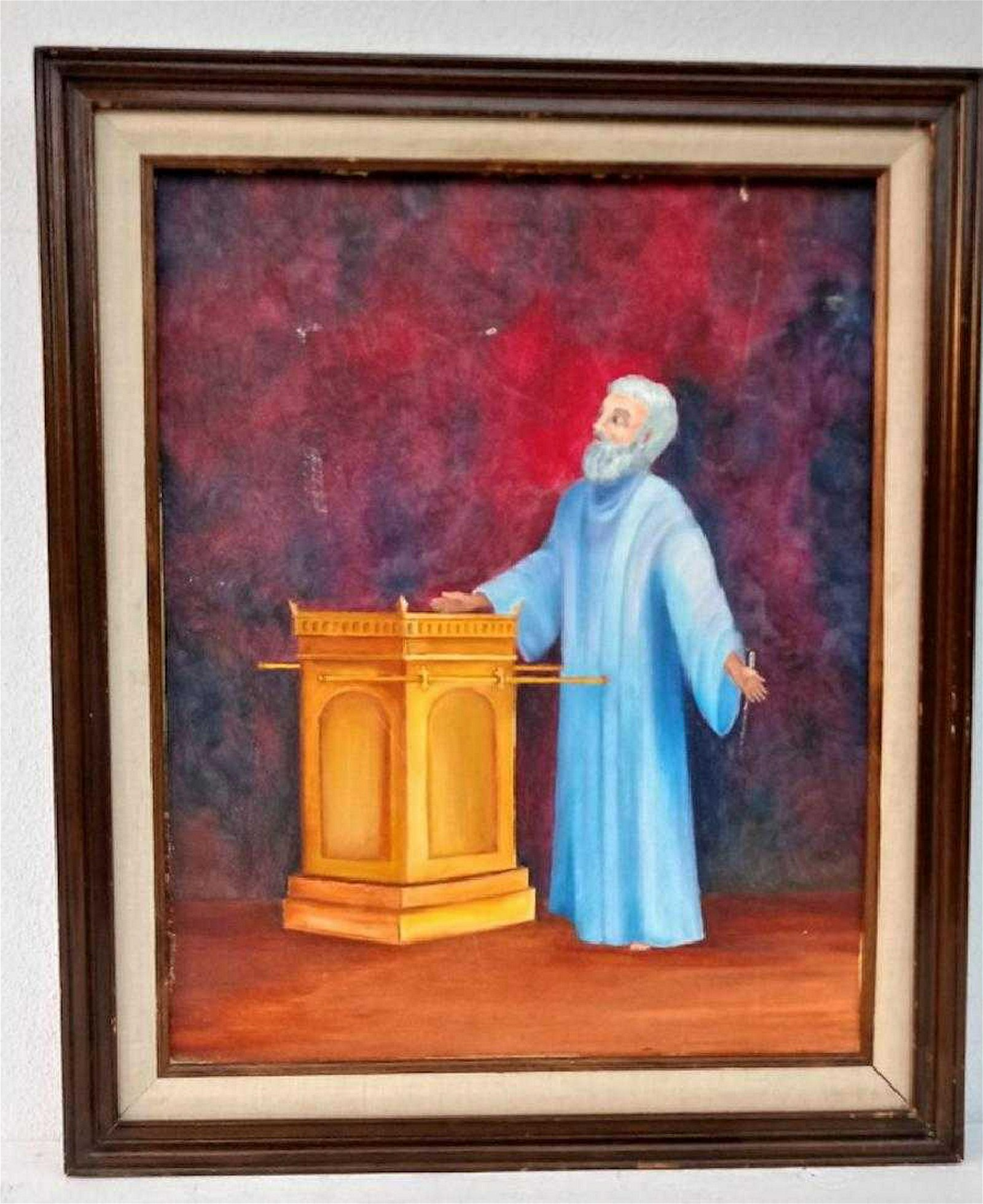 Original Acrylic Painting on Canvas-Framed