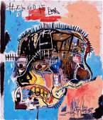 Jean Micheal Basquiat on Art Print Canvas