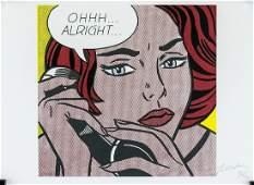 Roy Lichtenstein litho