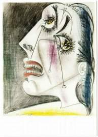 Pablo Picasso (1881-1973) postcard