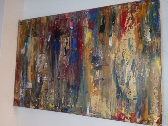 Original Abstract Modern Painting