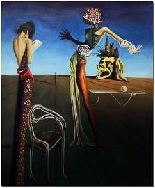 Salvador Dali Oil Painting