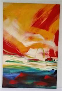 Abstract Modern Art Print on Canvas