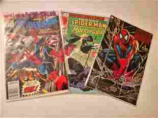 3 Marvel Comic Books SpiderMan