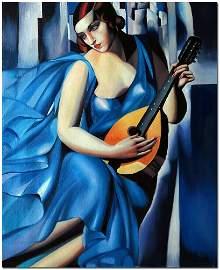 Tamara de Lempicka Oil Painting On Canvas